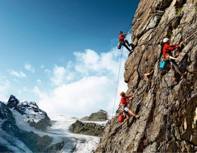 Swiss Mountain Cleaners Ad - Switzerland Tourism