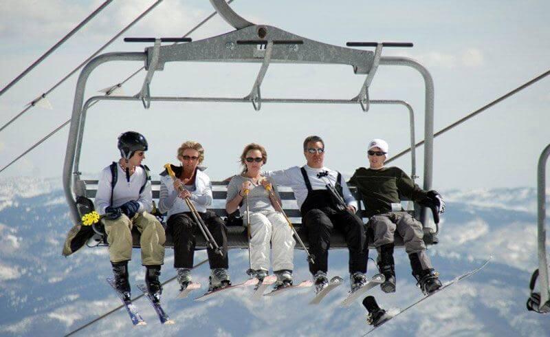 Modern Ski Lift