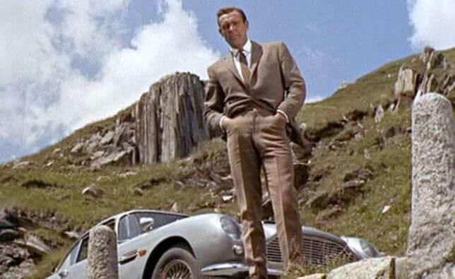 James Bond Goldfinger Switzerland