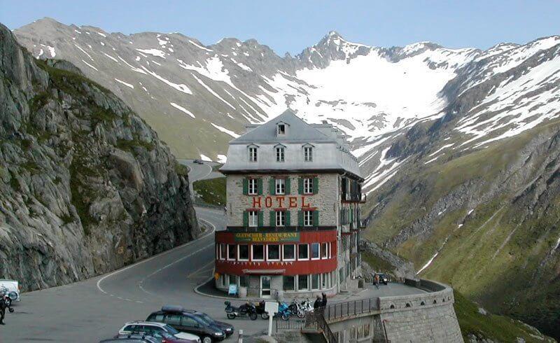 James Bond Goldfinger Hotel Belvedere Switzerland
