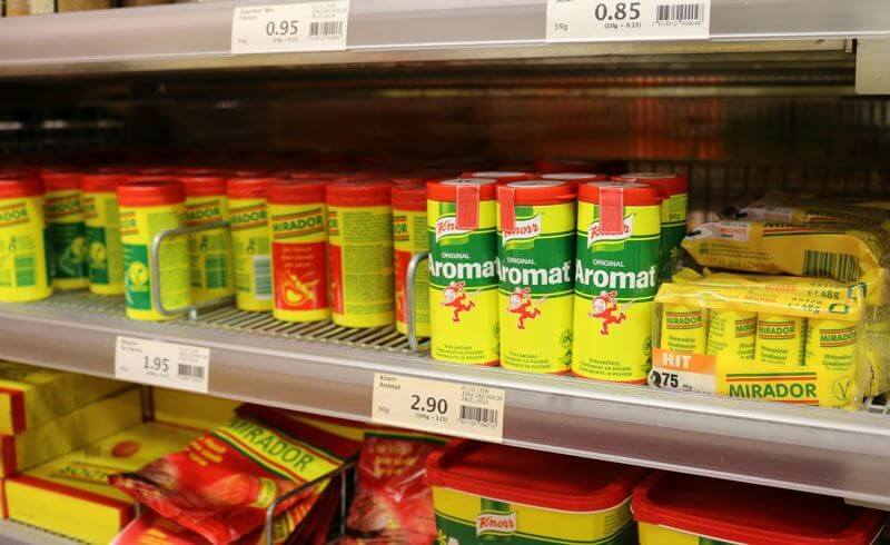Grocery Shopping Migros Switzerland - Aromat
