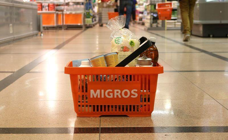 Grocery Shopping Migros Switzerland