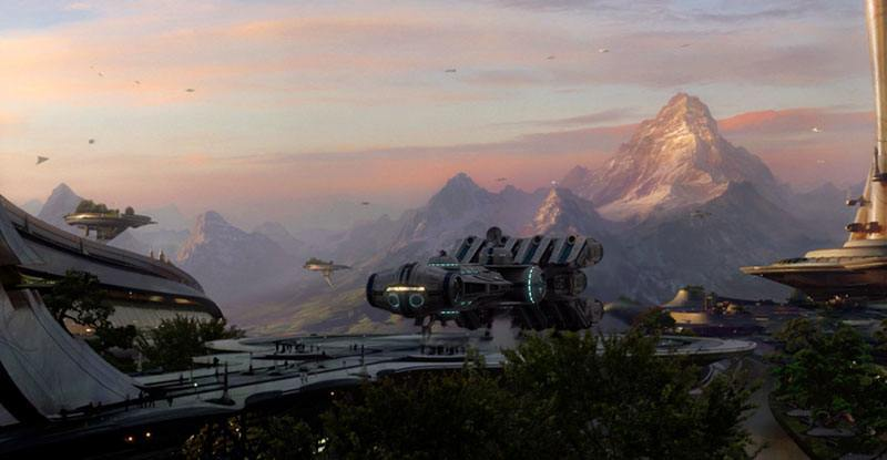 Star Wars - Alderaan Mountains