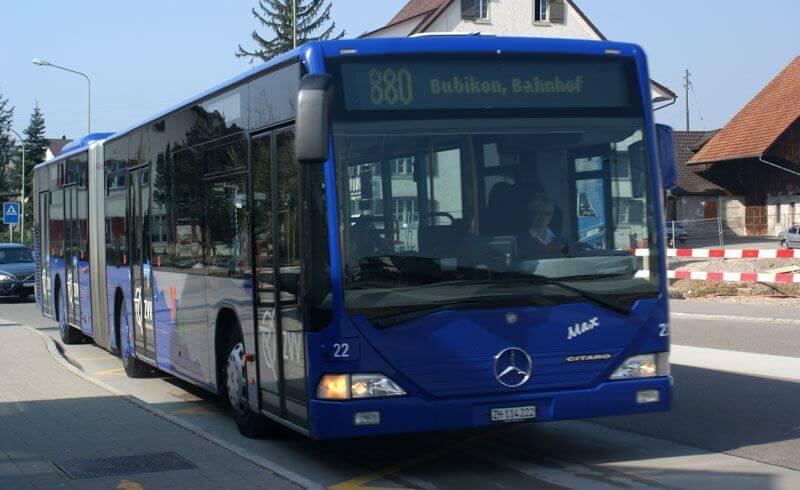 Surprising Facts about Switzerland - Public Bus