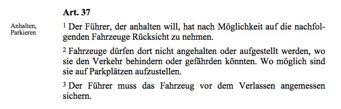 Weird Swiss Laws - Carlock