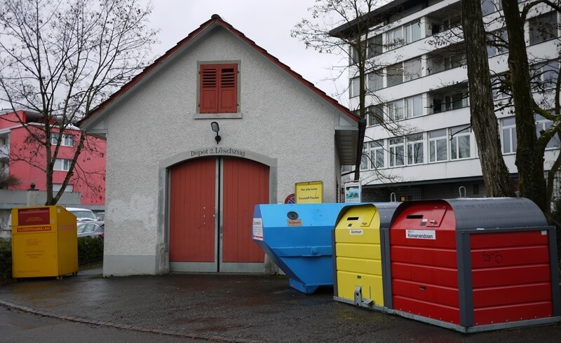 Weird Swiss Laws - Recycling