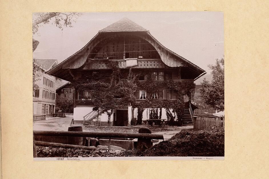 Chalet in Interlaken in the 1940's