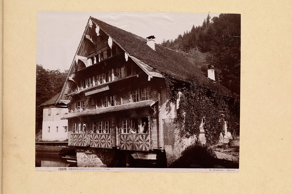 Chalet on Lake Lucerne at Treib