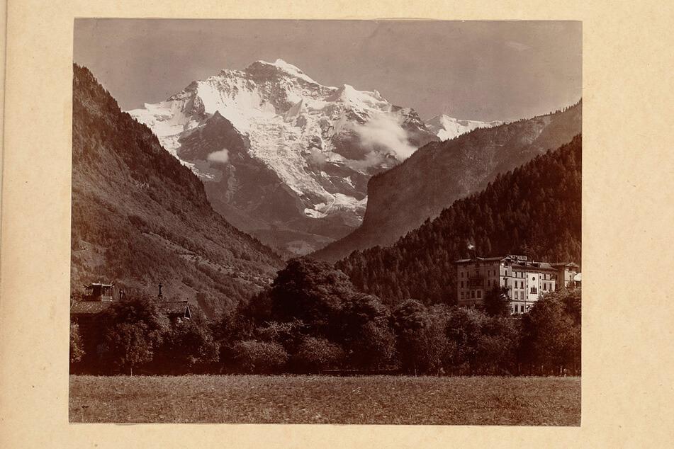 Jungfrau in Interlaken in 1940