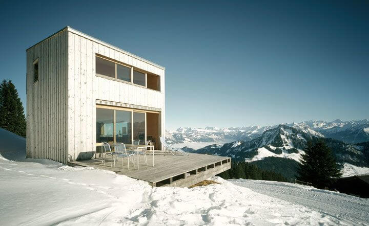 Modern Chalet in Switzerland
