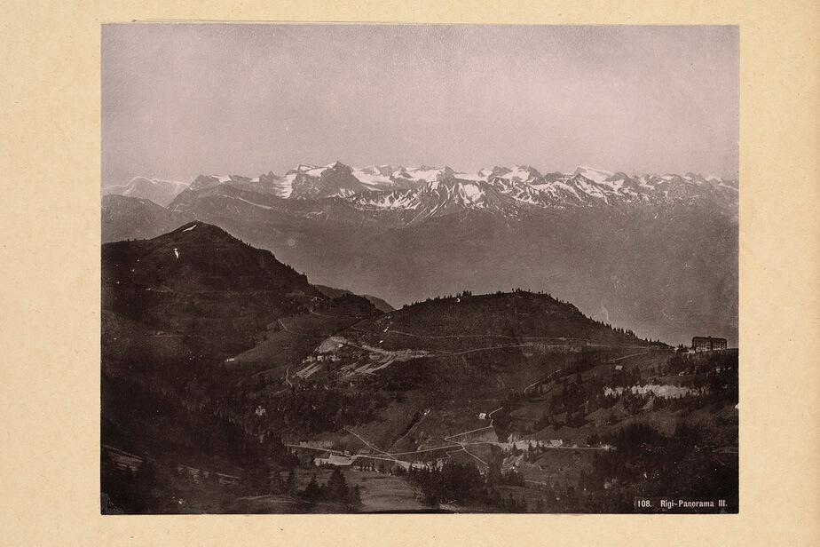 Panorama of Mount Rigi