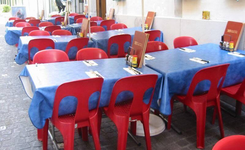 Typical Restaurant in Switzerland
