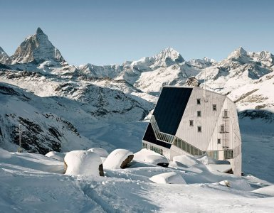 SAC Monte Rosa - Stunning Switzerland Architecture
