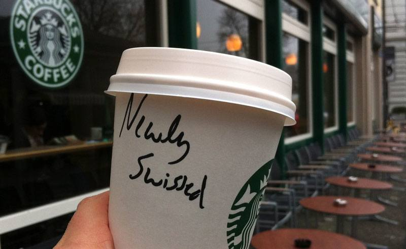 Starbucks - Newly Swissed