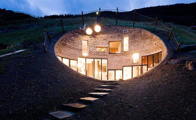 Swiss Hobbit House