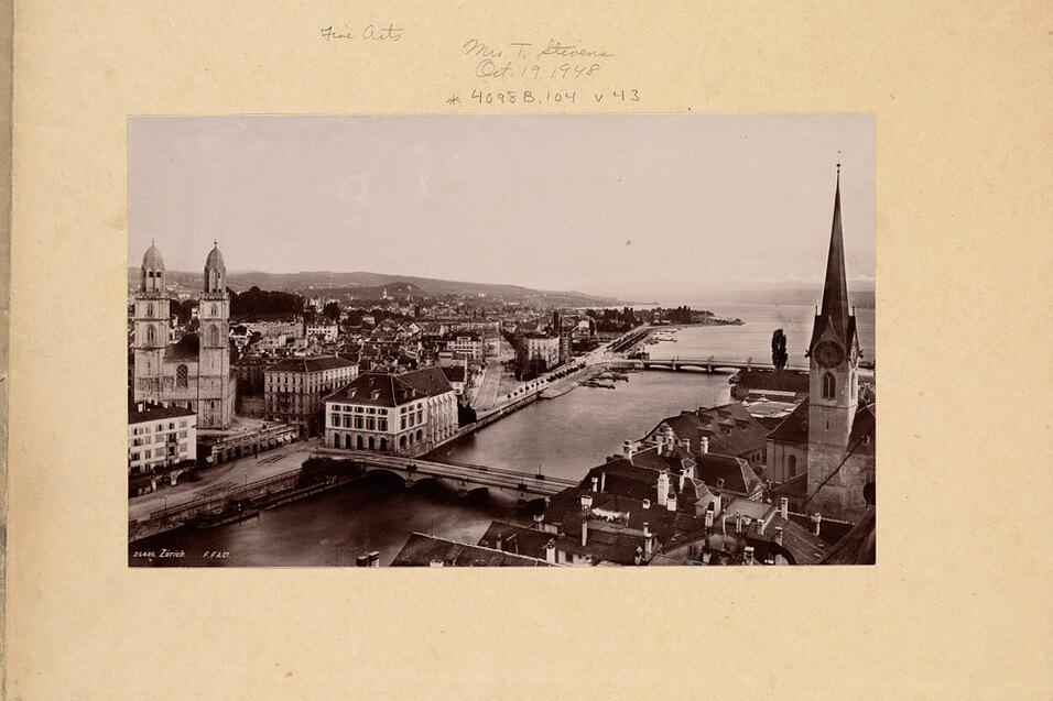 Zürich Switzerland in 1948