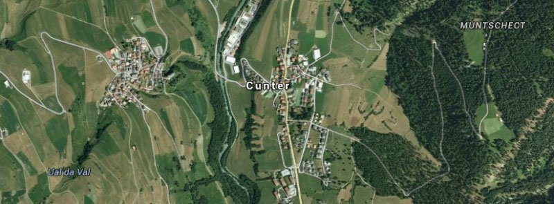 Cunter (GR) - Hilarious Swiss Town Names