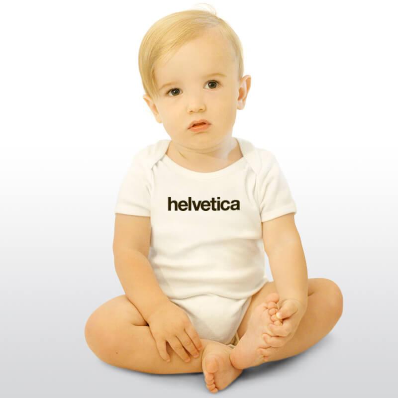Helvetica Onesie for Baby