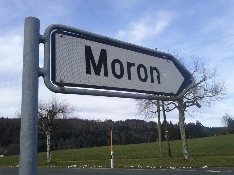 Moron (BE) - Hilarious Swiss Town Names