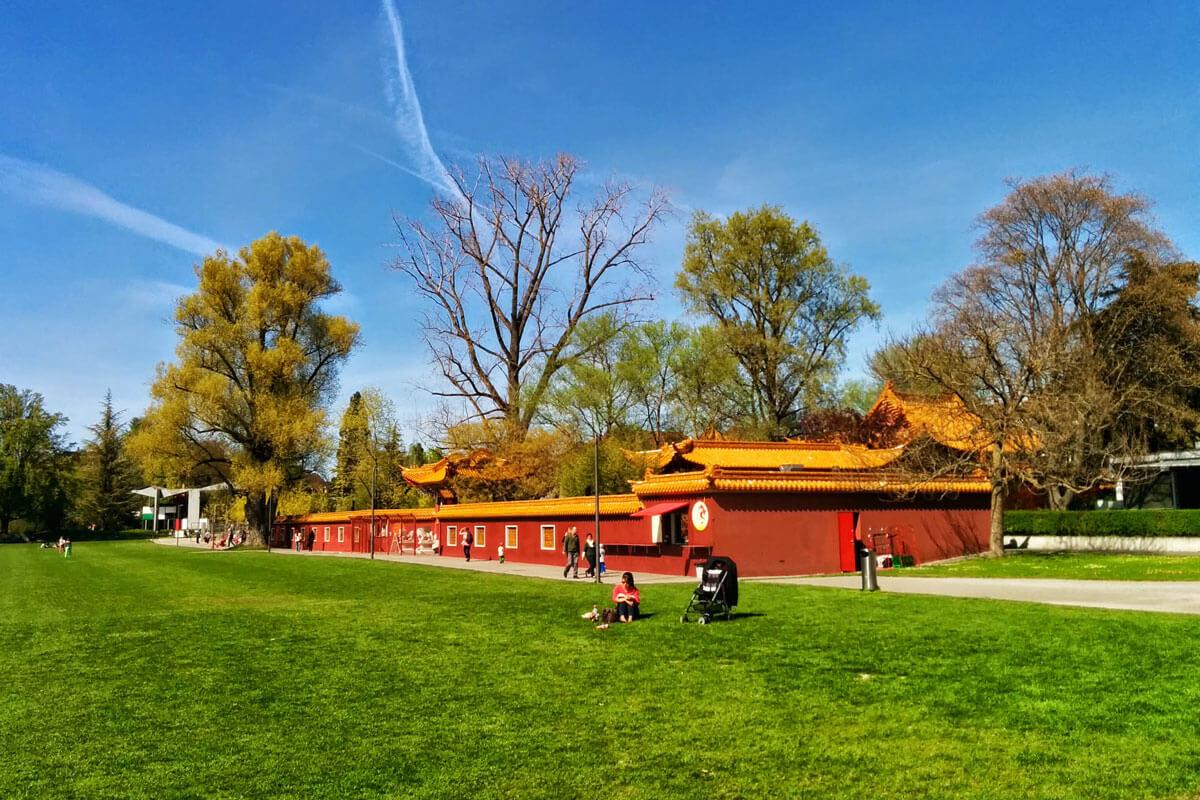 Chinese Garden in Zürich