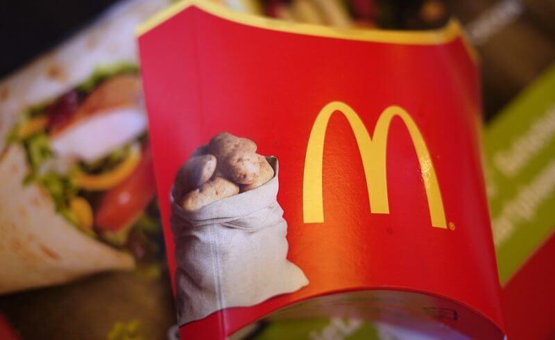 McDonalds Zurich - Swiss Potato Fries