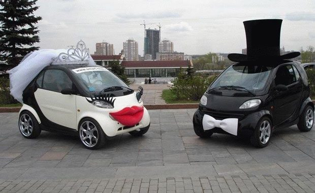 Smart Car Wedding