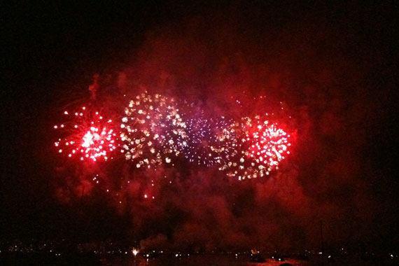 Züri Fäscht 2010 Fireworks