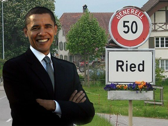 Obama Ried Swiss Roots