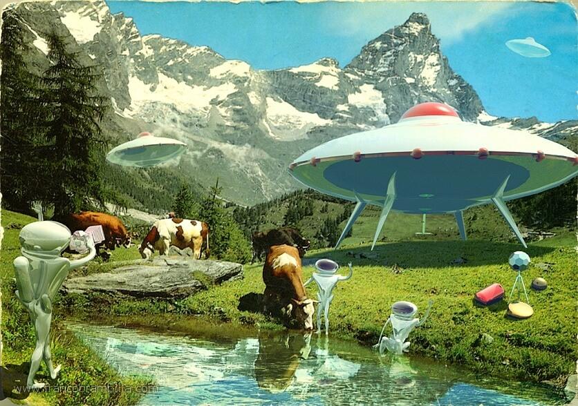 Alien Invasion Switzerland