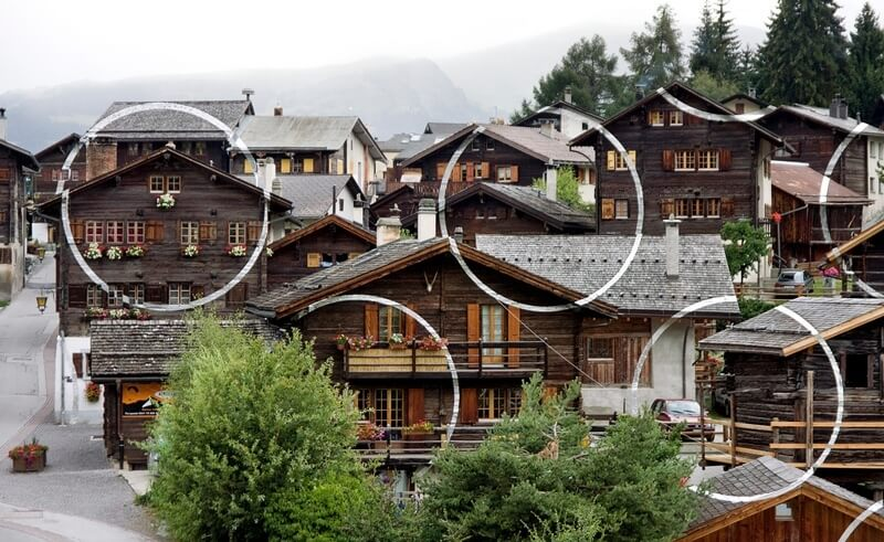 9 incredible optical illusions found in switzerland