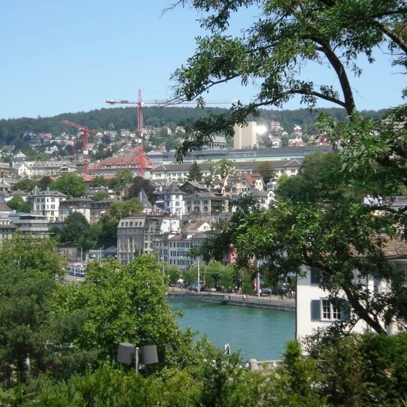 Best Views of Zurich - Lindenhof