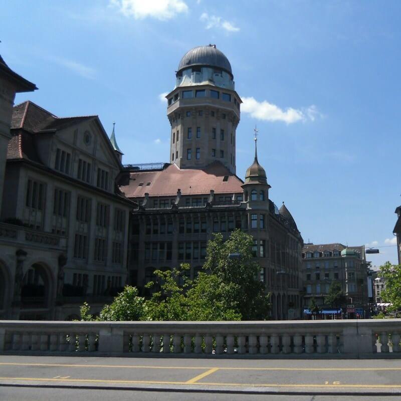 Best Views of Zurich - Urania