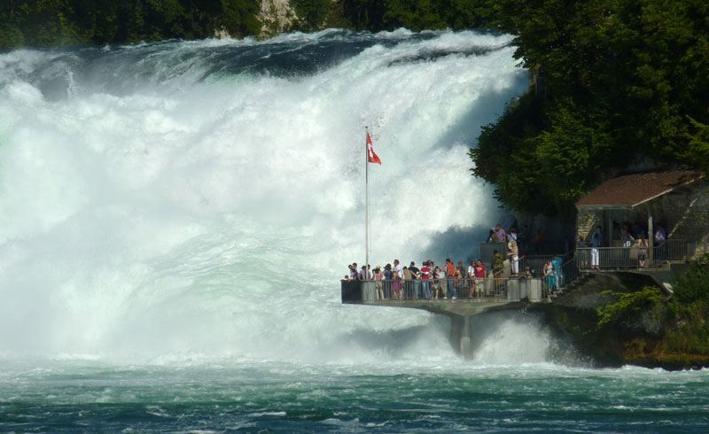 Rhine Falls Neuhausen, Switzerland