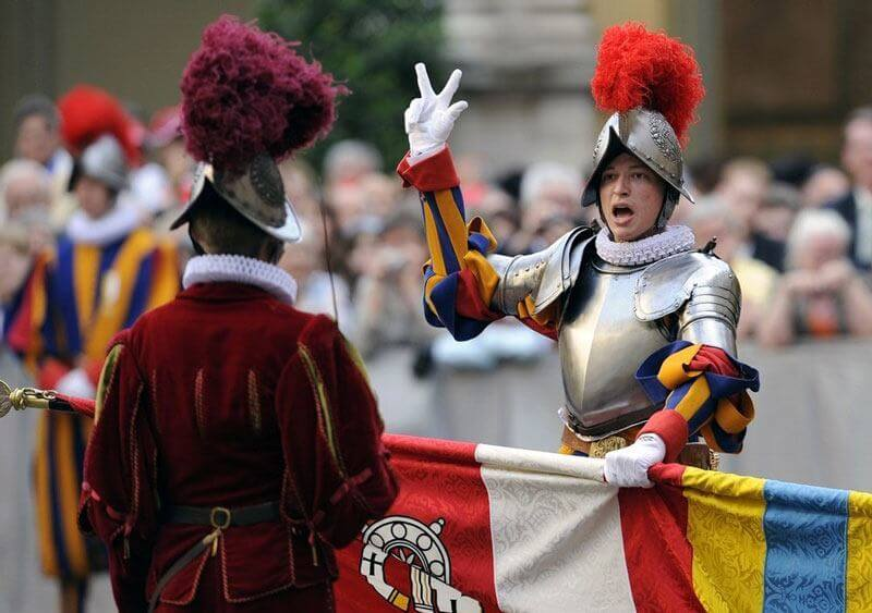 Swiss Guards Vatican