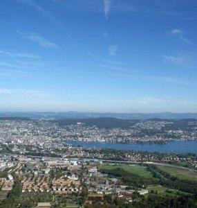 View from Zürich Uetliberg