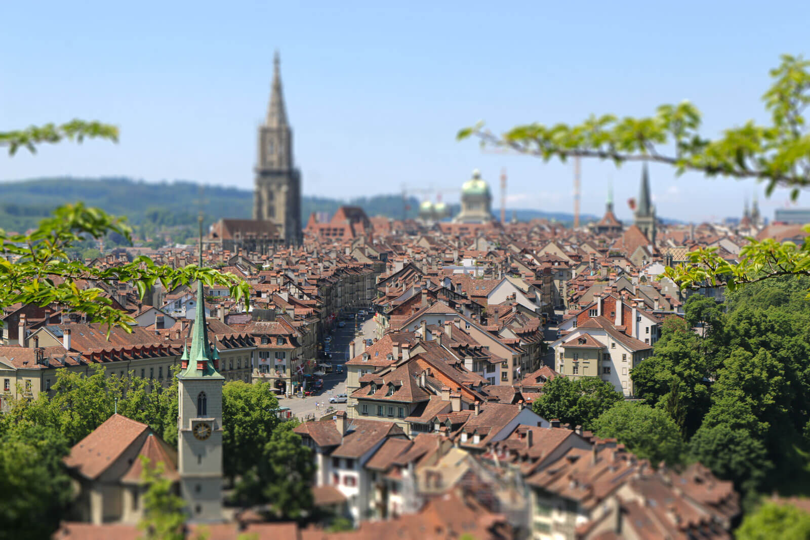 Bern Old Town - Tilt-Shift