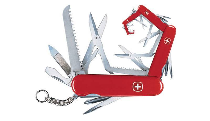 MC Escher - Victorinox Knife