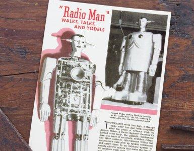 Radio Man - Swiss Yodeling Robot