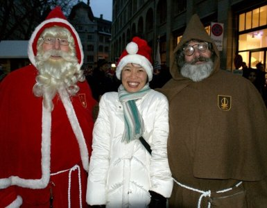 How Swiss Samichlaus Santa Works
