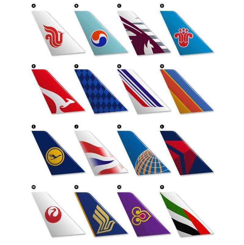 Airline Brands Quiz - Airline Liveries