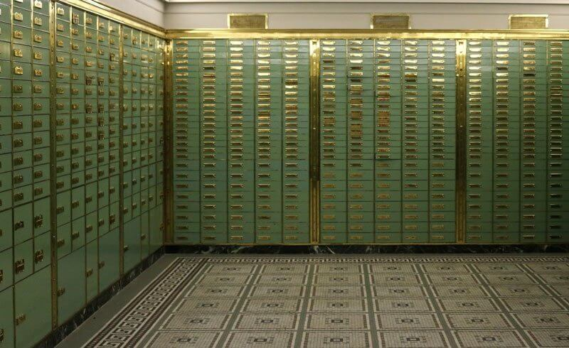 Swiss Bank - Numbered Account