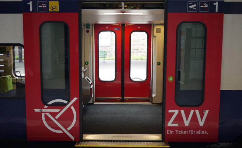 Swiss ZVV Train