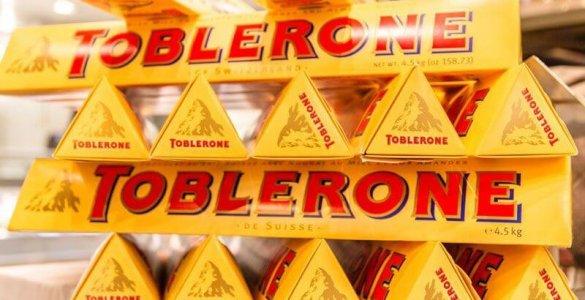 Toblerone with Matterhorn Image