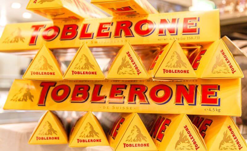Toblerone with Matterhorn Image