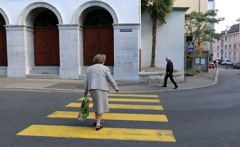 Vevey - Pedestrian Crossing