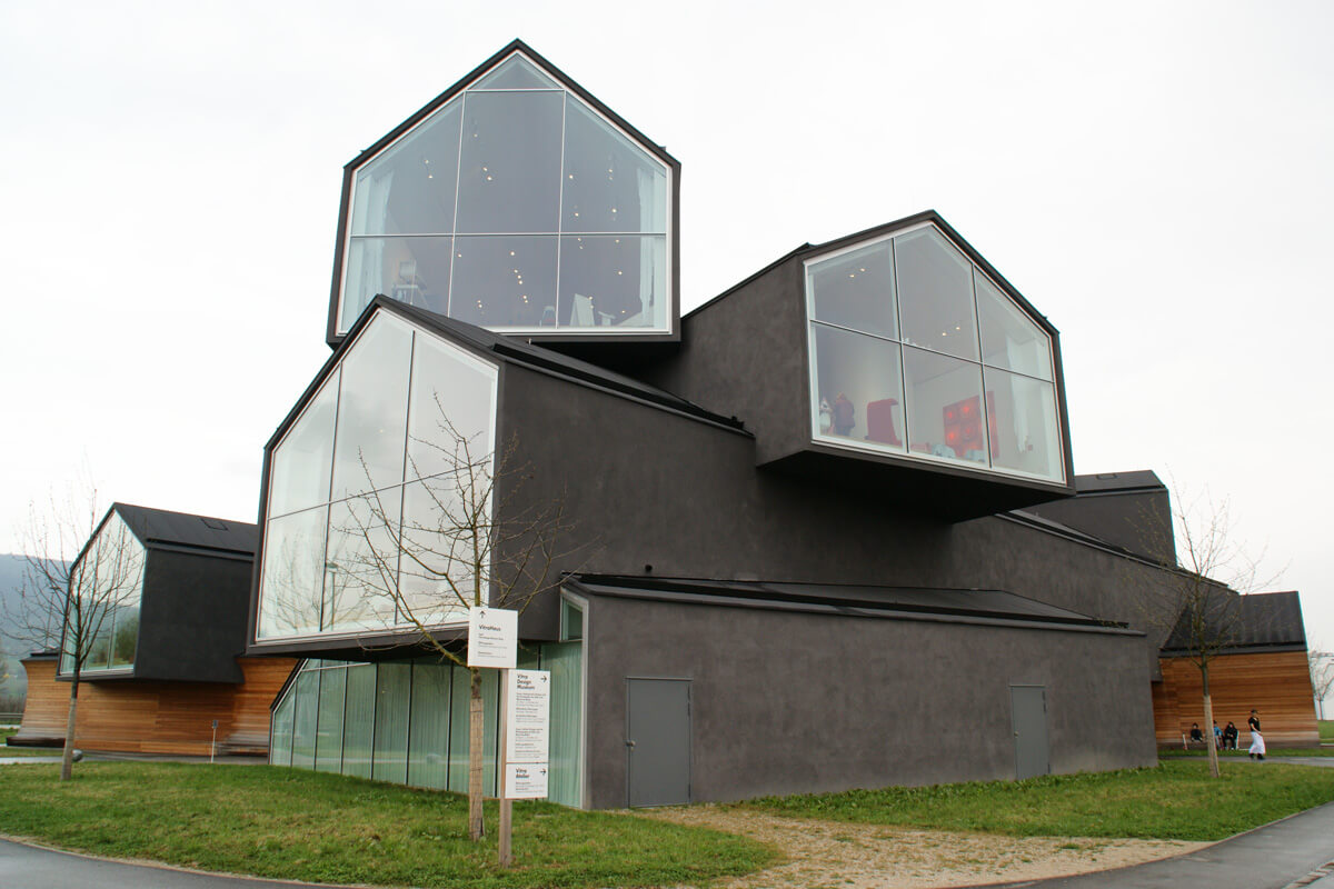 The VitraHaus design showroom in Weil am Rhein, Germany