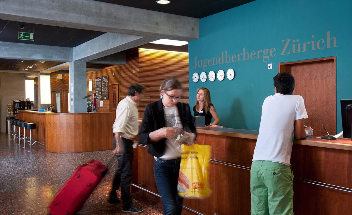 Youthhostel Zurich Reception