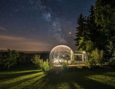 Bubble Hotel by Thurgau Tourism