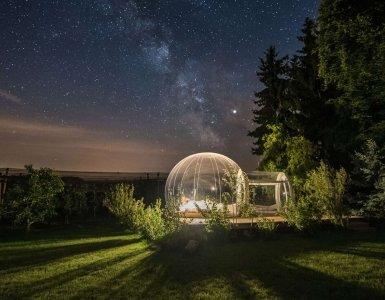 Bubble Hotel by Thurgau Tourism