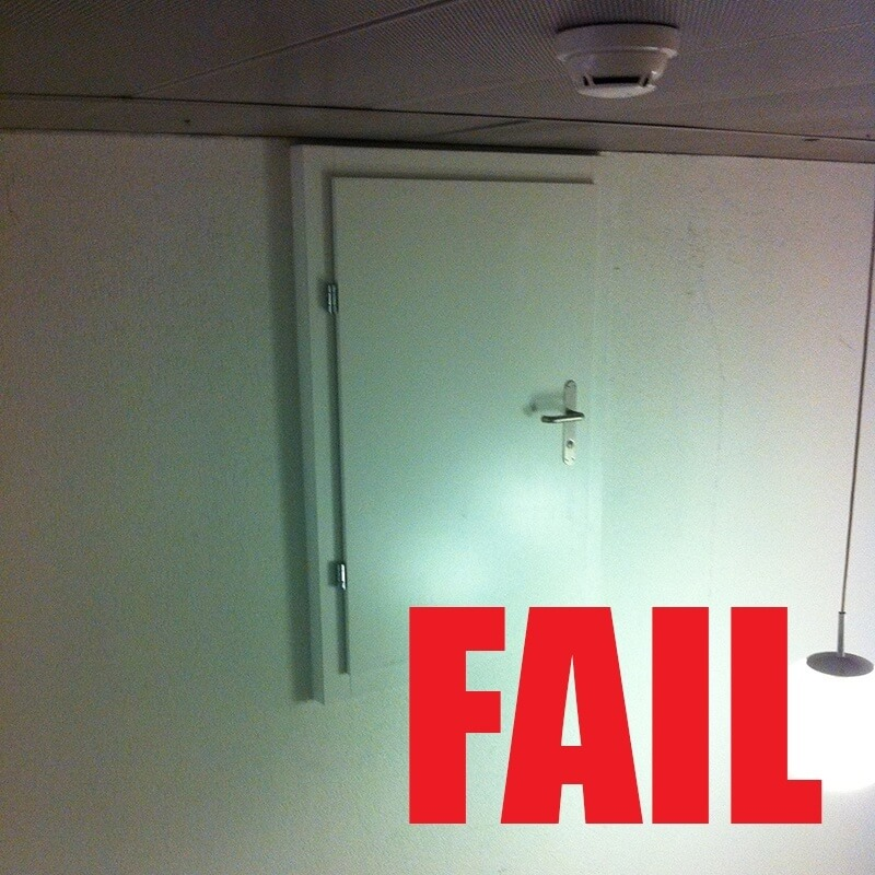 Door to Nowhere FAIL